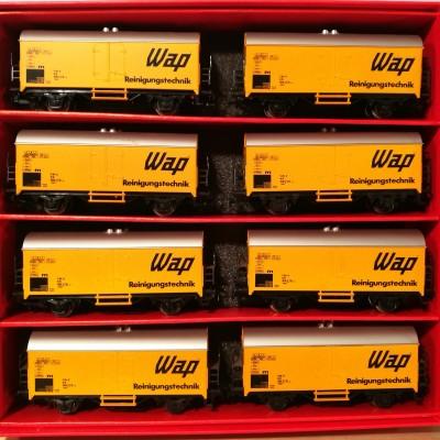 Vista frontle interno scatola: carri WAP