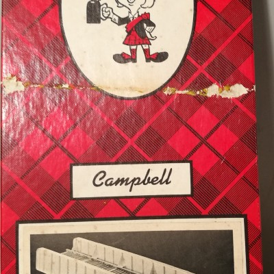 Scatola Campbell originale